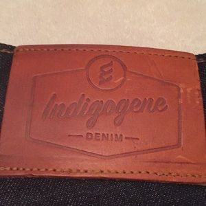 Indigogene raw Selvedge Denim Jeans